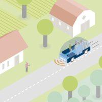 Autonomous community-run bus service