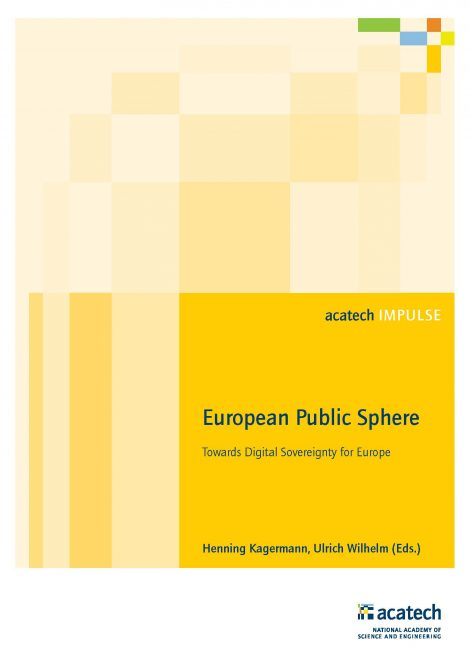 "Cover of the publication ""European Public Sphere"""