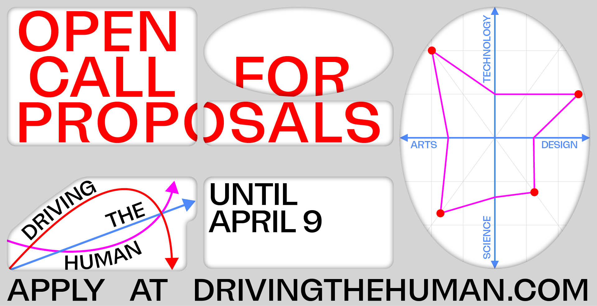 GGraphic Driving the Human Open Call Dates and Registration Information