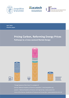 """Cover of the publication """"Pricing Carbon, Reforming Energy Prices"""""""