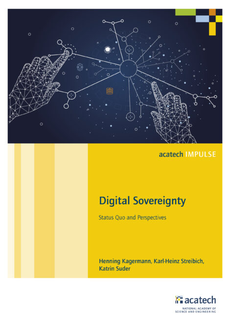"""Cover of the publication """"Digital Sovereignty"""""""