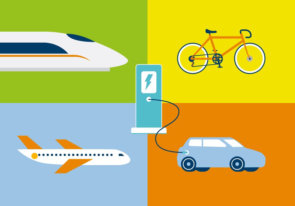 Titelbild des Mobilitätsmonitor 2021